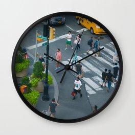 Bird's Eye Wall Clock