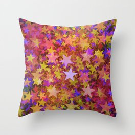 So Many Stars Throw Pillow