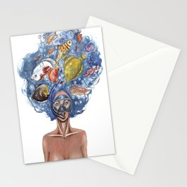 Fishes  Stationery Cards