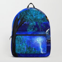 WOLF AND LIGHTENING Backpack