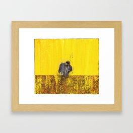 D (II) Framed Art Print