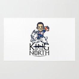 Tom Brady - king of the north Rug