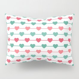 String of Hearts Pillow Sham