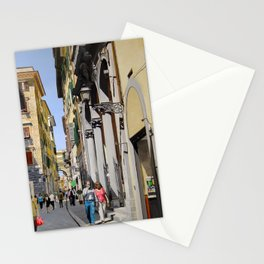 Via del Corso Stationery Cards