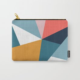 Modern Geometric 35 Carry-All Pouch