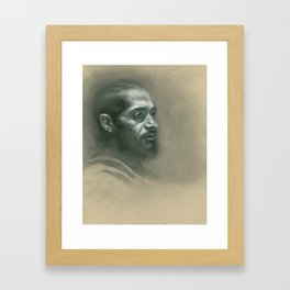 Victory Lap Framed Art Print