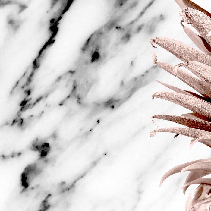 Pineapple Rose Gold Marble Leggings