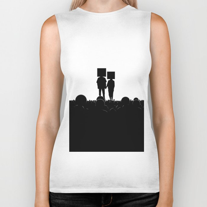 I have you. You have me. - US AND THEM Biker Tank