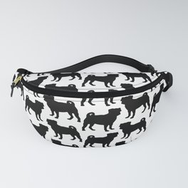 Simple Pug Silhouette Fanny Pack