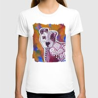 pitbull T-shirts featuring Pitbull Art by Just Bailey Designs .com