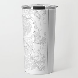Nashville, United States Minimalist Map Travel Mug