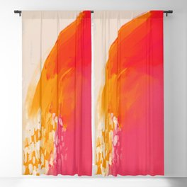 The Bright Abstract Waterfall Blackout Curtain
