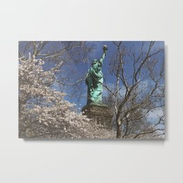 Statue Of Liberty III Metal Print