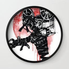 A Film By The Mummy Wall Clock