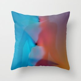 Rainbow Pleasures Throw Pillow