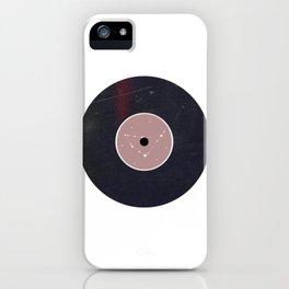 Vinyl Record Star Sign Art | Capricorn iPhone Case
