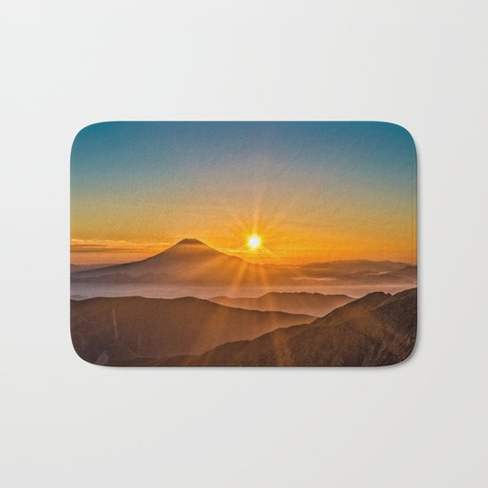 Mt Fuji II Bath Mat