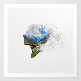 One With the World II Art Print