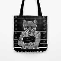 mr fox Tote Bags featuring Mr fox.. by ZefxisJR281