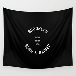 Brooklyn - NY, USA (Badge) Wall Tapestry