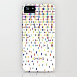 Color harlekin iPhone Case