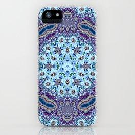 Modern Traditional Lacey Mandala iPhone Case