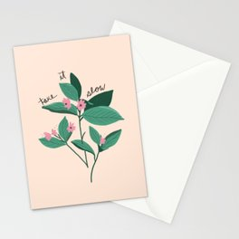 Take It Slow Stationery Cards