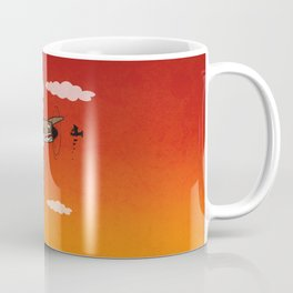 Muso Milkwar Aircraft Coffee Mug