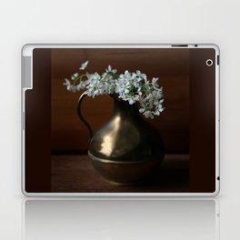 Bird Cherry in the vintage jar Laptop & iPad Skin