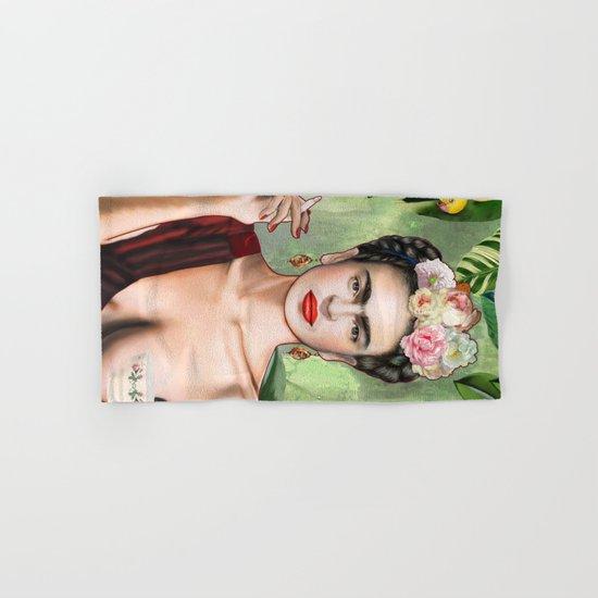 Frida con amigos Hand & Bath Towel