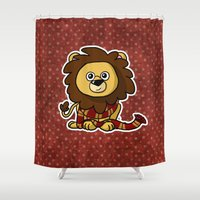 gryffindor Shower Curtains featuring Mommy's Future Gryffindor by mikaelak