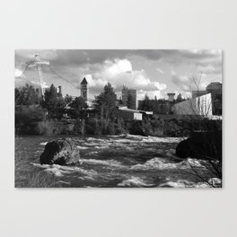 Behold Them as They Tread Canvas Print
