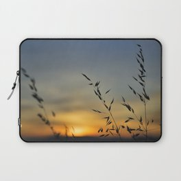 Blowing in the red wind Laptop Sleeve