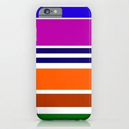 Warm Color Rhythm iPhone Case