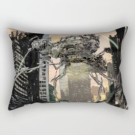 Martian attack Rectangular Pillow
