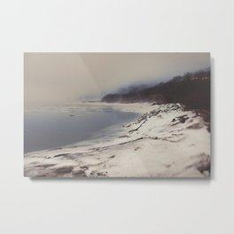 Coastal Fog Metal Print