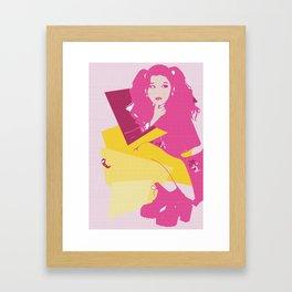 Sana Framed Art Print