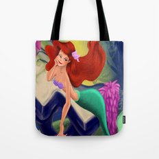 Little Mermaid So In Love  Tote Bag