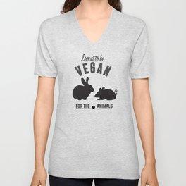 Proud to be Vegan Unisex V-Neck
