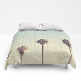 palm trees. Daydreamer No.2 Comforters