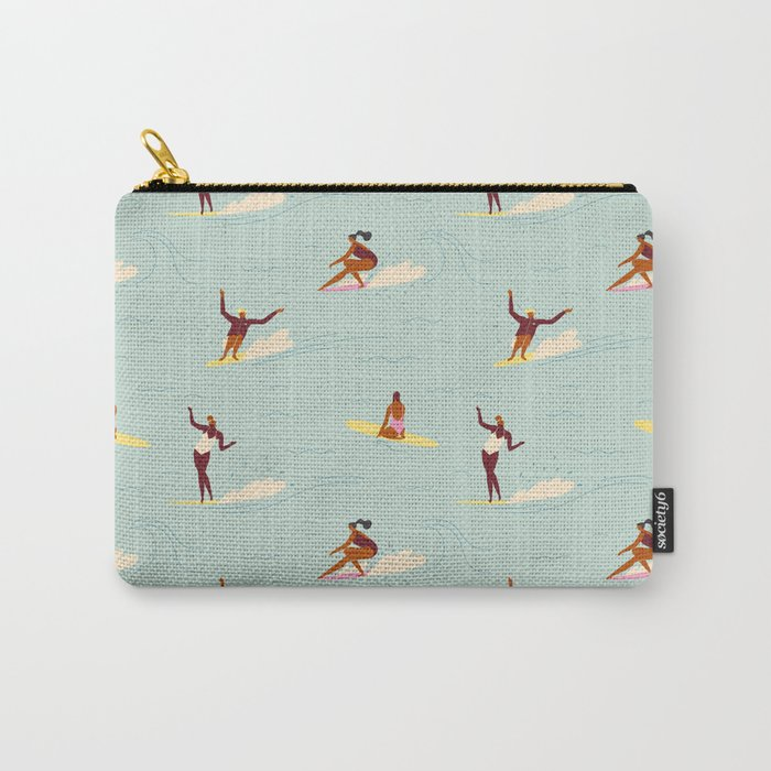 Waikiki beach Carry-All Pouch