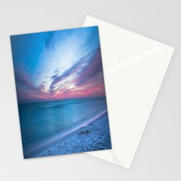 If By Sea - Sunset and Emerald Waters Near Destin Florida Stationery Cards
