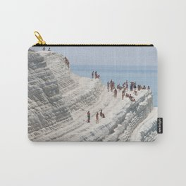 Rocky cliff Scala dei Turchi, Sicily, Italy Carry-All Pouch