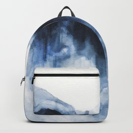 Abstract Indigo Mountains 2 Backpack