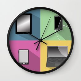 Devices Wall Clock