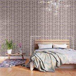 Blush pink - glam lash design Wallpaper