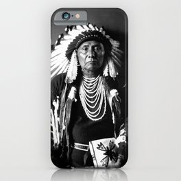 Chief Joseph - Nez Perce Chief - Circa 1900 iPhone Case