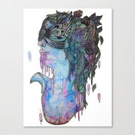 moth effect Canvas Print