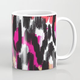 Pop Ikat Pattern Coffee Mug