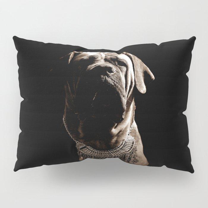 Dramatic Boerboel Pillow Sham